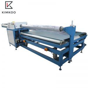 JK-R1 полуавтоматический машина для упаковки рулонов матрасов
