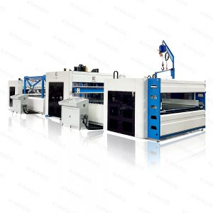 JK-CR2 Mattress Compression Fold Roll Packing Machine